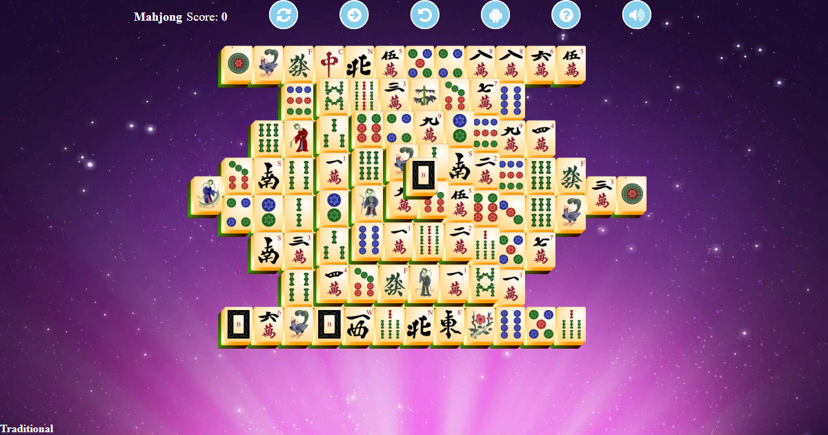 Mahjong Solitaire Unlimited - Play Free Game Online